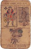 Fortune Telling Cards, title unknown, Jack of Clubs