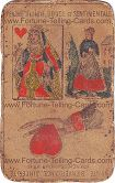 Fortune Telling Cards, title unknown, Queen of Heart