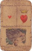 Fortune Telling Cards, title unknown, Ace of Heart