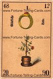 Antique Fortune Telling Cards, Fortunate love