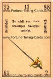 Antique Fortune Telling Cards, Enmity, Duel