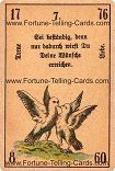 Antique Fortune Telling Cards, Faithful love