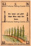 Antique Fortune Telling Cards, Health and old age