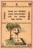 Antique Fortune Telling Cards, Inheritance, wealth