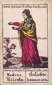 Antique Austrian Sibilla Cards, Sweetheart