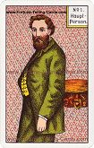 Kipper Cards, Mrs. Kipper famous Fortune Telling Card, Main Character male