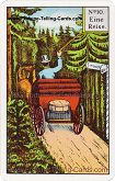 Kipper Cards, Mrs. Kipper famous Fortune Telling Card, A journey