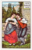 Kipper Cards, Mrs. Kipper famous Fortune Telling Card, Wedlock card