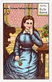 Kipper Cards, Mrs. Kipper famous Fortune Telling Card, Lady